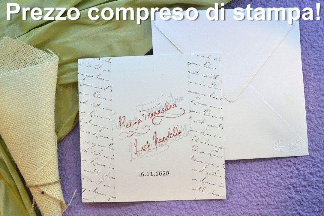 Partecipazione matrimonio F1247