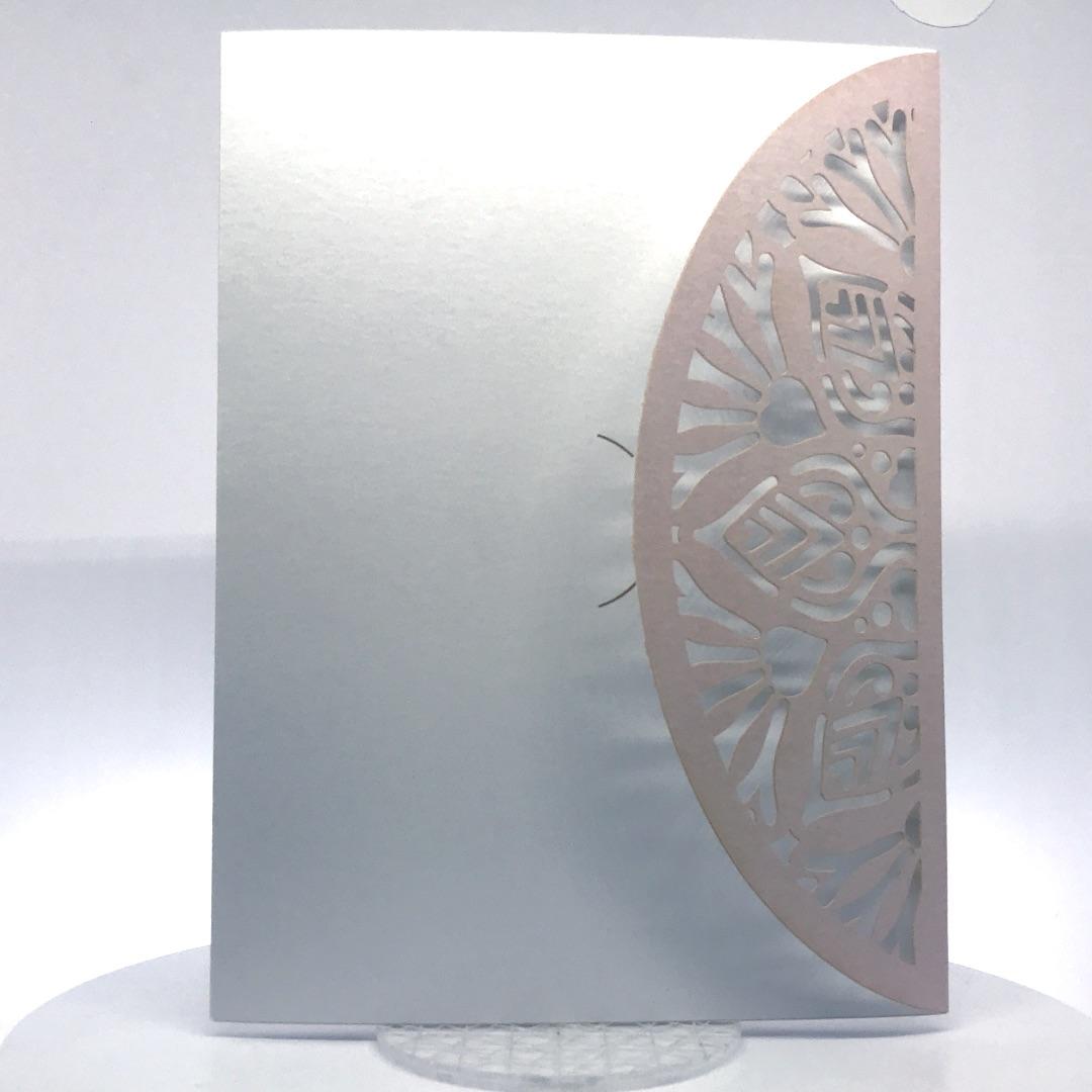 Porta foto sposi in cartoncino Modello Laser Pof-1-1