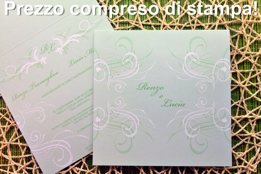 Partecipazione di nozze F1282