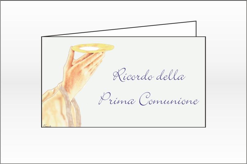 Biglietti Prima Comunione per Bomboniere – Cod. BFF0014