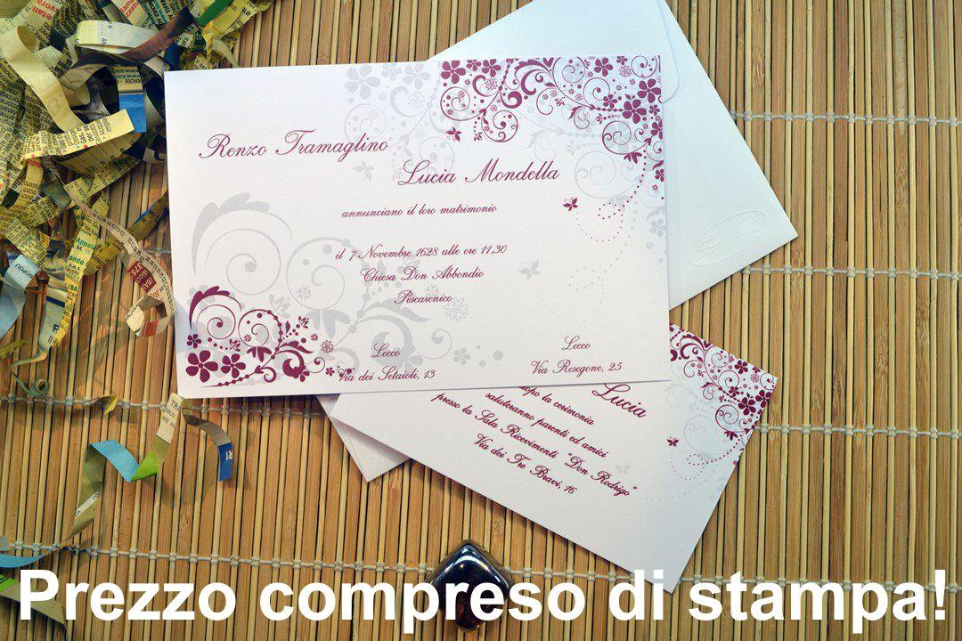 Partecipazione di nozze F1319