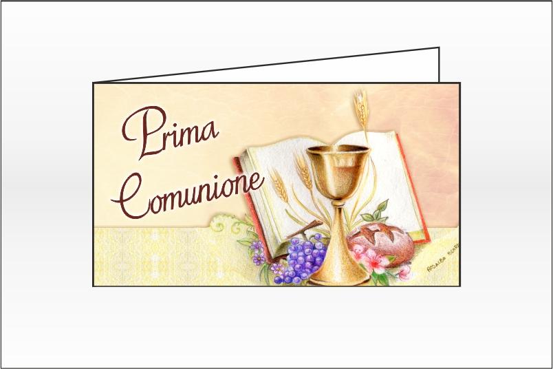 Biglietti per la Prima Comunione Bomboniere – Cod. BFF0073