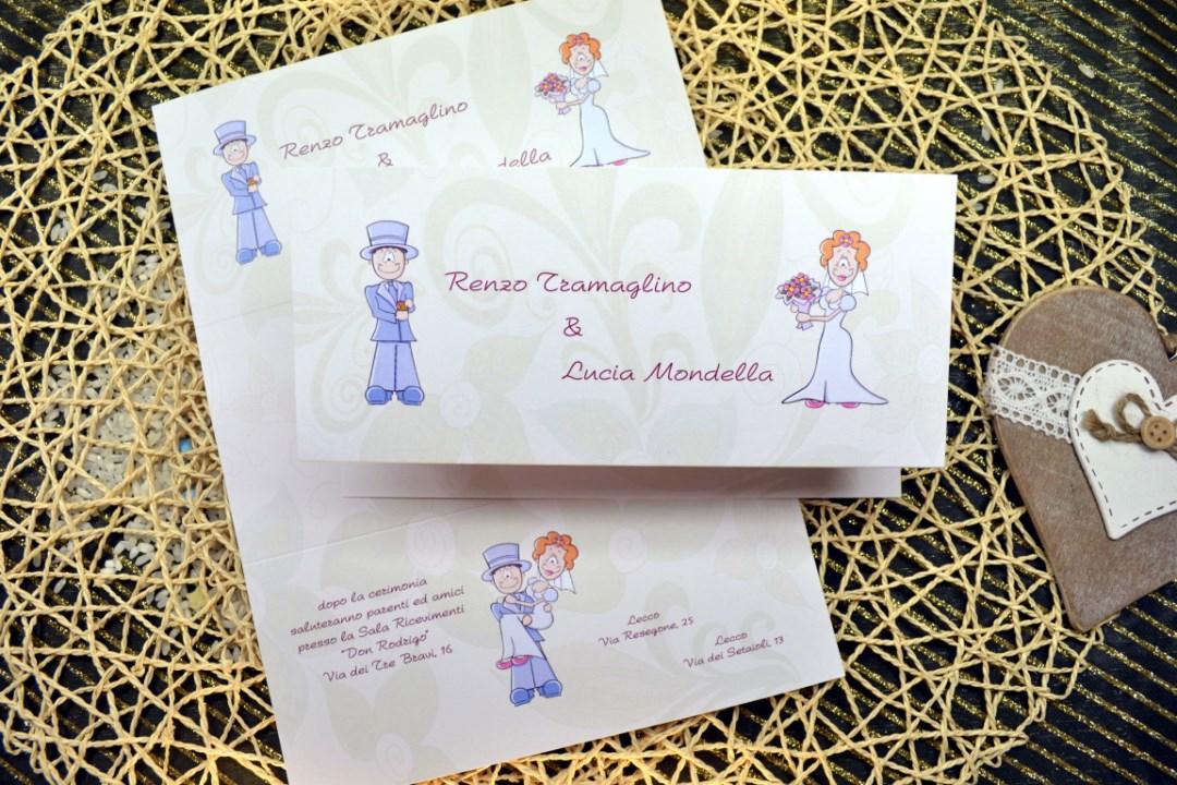 Partecipazione matrimonio F1365