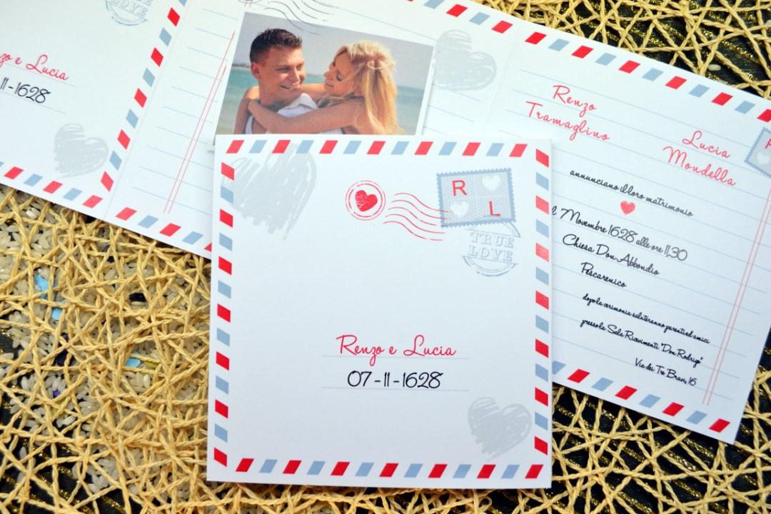 Partecipazione nozze F1367