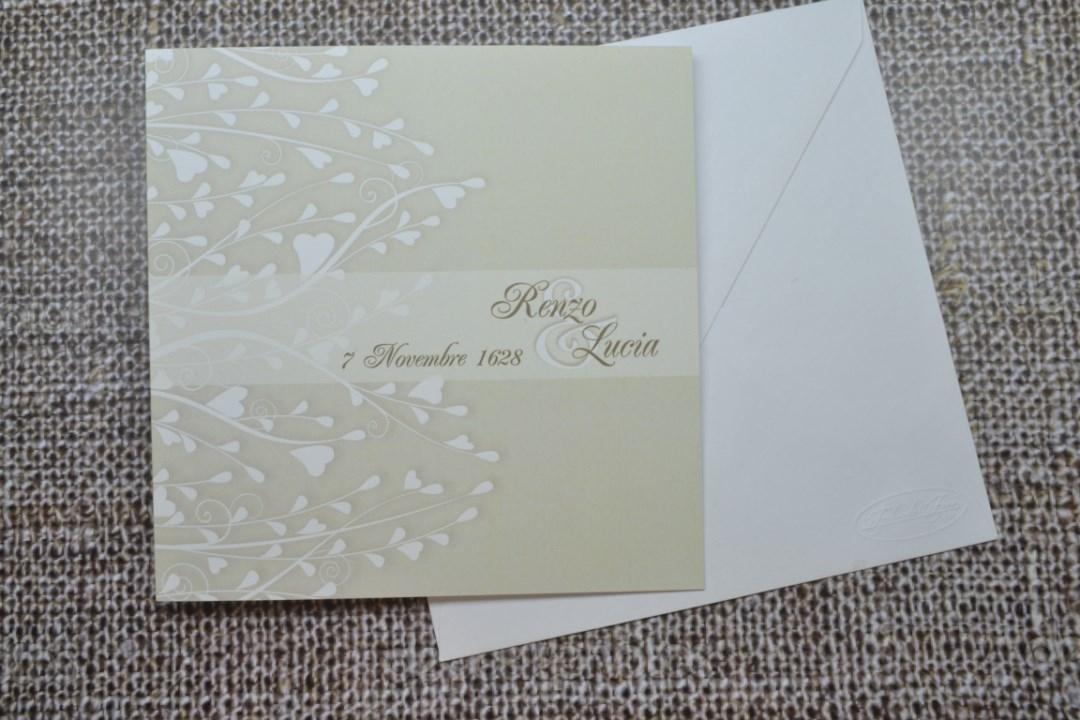 Partecipazione nozze F1459