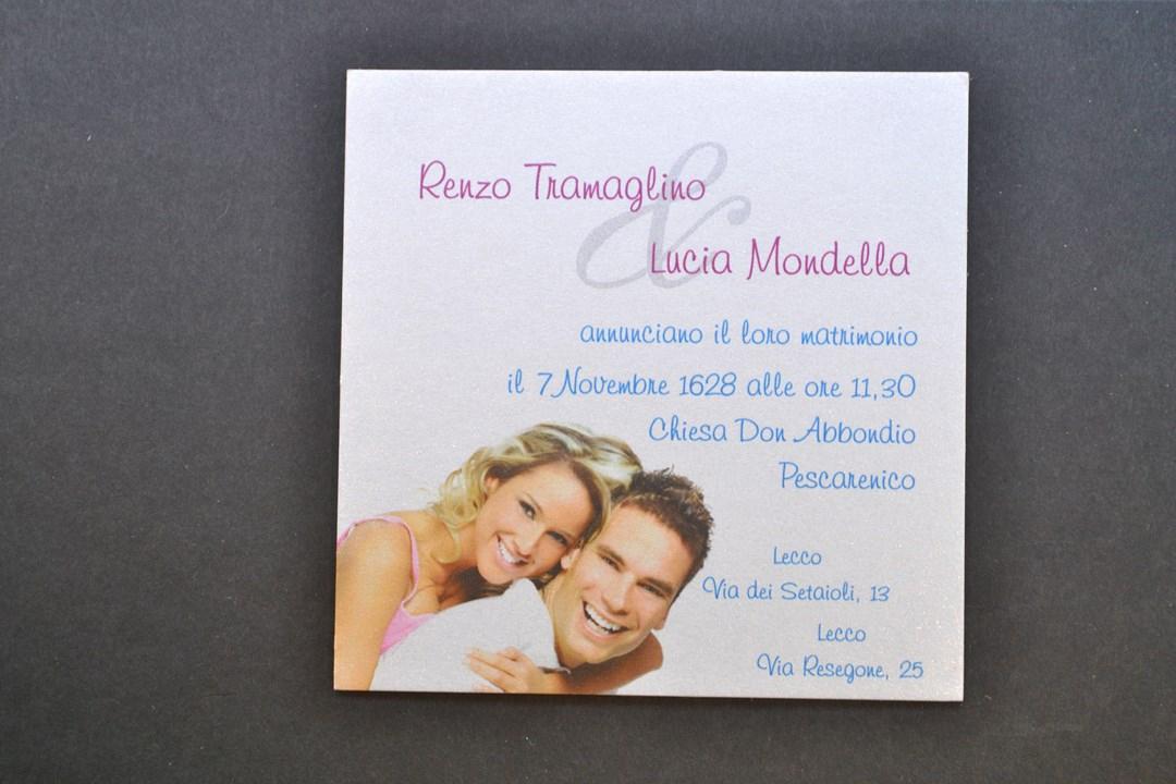 Calamita Matrimonio Personalizzata con Magnete Adesivo