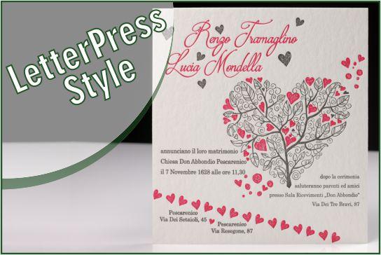 Letterpress style